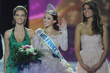 Sylvie Tellier Laury Thilleman Miss France Beauty Pageant 2012