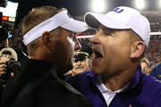 Les Miles Hugh Freeze Photos Photo