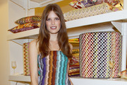 Alessia Piovan attends the Missoni Home Luci e Ombre Cocktail Party during the Milan Design Week 2011 on April 11, 2011 in Milan, Italy.