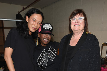 Missy Elliott Backstage at Alexander Wang X H&M Launch