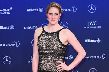 Missy Franklin Red Carpet - 2017 Laureus World Sports Awards - Monaco
