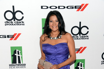 Misty Upham Arrivals at the Hollywood Film Awards — Part 2