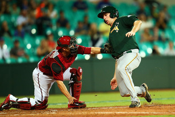Mitch Dening Team Australia v Arizona Diamondbacks