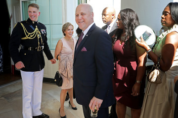Mitch Landrieu Obama Hosts a Reception for the Nat'l Museum of African American History and Culture