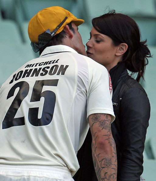mitchell johnson tattoo. Michael+johnson+cricketer+