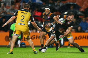 Mitchell Brown Super Rugby Rd 3 - Chiefs v Hurricanes