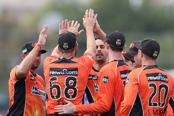 Mitchell Johnson Big Bash League - Hurricanes v Scorchers