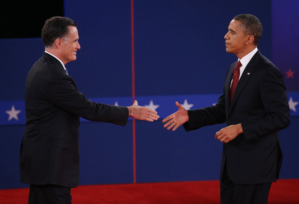essay about barack obama and mitt romney