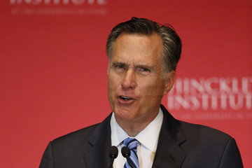 Mitt Romney Mitt Romney Delivers Speech on State of 2016 GOP Presidential Race