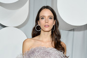 Stacy Martin attends the Miu Miu show as part of the Paris Fashion Week Womenswear Spring/Summer 2019 on October 2, 2018 in Paris, France.