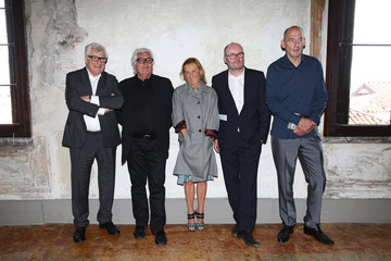 Miuccia Prada Prada Foundation Hosts a Private Lunch
