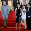 """Miyi Huang """"Titane"""" Red Carpet - The 74th Annual Cannes Film Festival"""