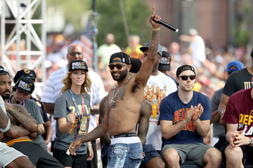 Mo Williams Cleveland Cavaliers Victory Parade And Rally