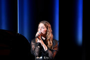 Maggie Rogers performs onstage during MoMA's Twelfth Annual Film Benefit Presented By CHANEL Honoring Laura Dern on November 12, 2019 in New York City.