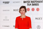 Camilla Rutherford attends The Moet British Independent Film Awards at Old Billingsgate Market on December 7, 2014 in London, England.
