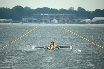 Mohamed Sbihi Samsung World Rowing Cup II: Day 1