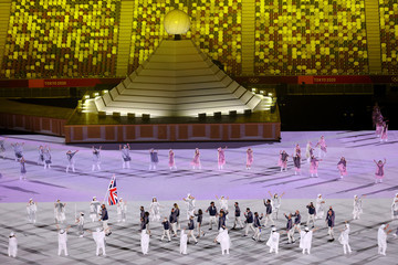 Mohamed Sbihi Opening Ceremony - Olympics: Day 0