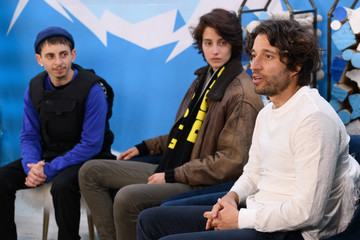 Moises Arias The Vulture Spot At Sundance - DAY 3