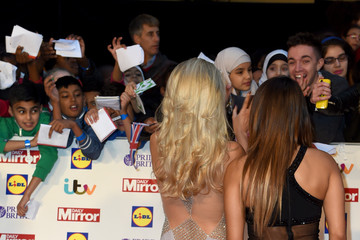 Mollie King Pride of Britain Awards