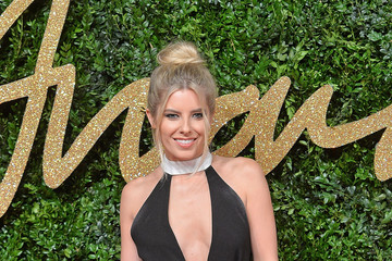 Mollie King British Fashion Awards 2015 - Red Carpet Arrivals