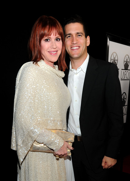 Molly Ringwald with cool, enchanting, enigmatic, Husband Panio Gianopoulos