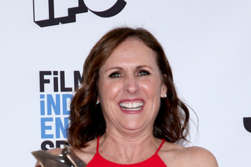 Molly Shannon 2017 Film Independent Spirit Awards  - Press Room
