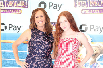 Molly Shannon Columbia Pictures And Sony Pictures Animation's World Premiere Of 'Hotel Transylvania 3: Summer Vacation' - Arrivals