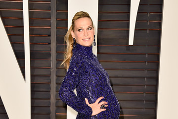 Molly Sims Arrivals at the Elton John AIDS Foundation Oscars Viewing Party — Part 5
