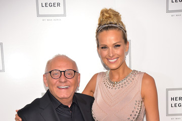Molly Sims Herve Leger By Max Azria - Backstage - Mercedes-Benz Fashion Week Spring 2015