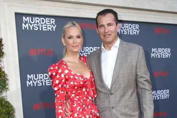"Molly Sims Netflix World Premiere Of ""Murder Mystery"""