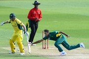 Imran Tahir of the Proteas during the 1st Momentum ODI Series match between South Africa and Australia at SuperSport Park on September 30, 2016 in Pretoria, South Africa.
