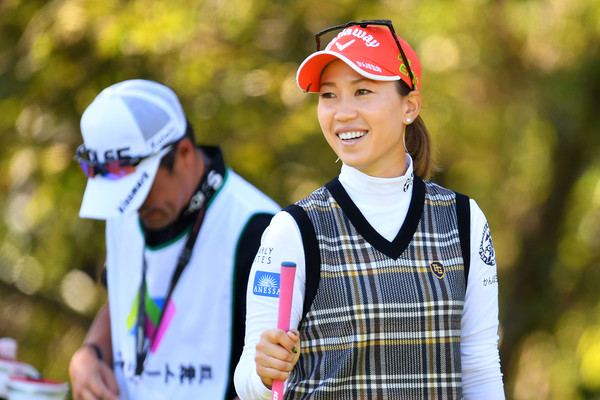 Nobuta Group Masters - Round One [recreation,fun,headgear,cap,photography,leisure,uniform,momoko ueda,nobuta group masters,miki,japan,hyogo,masters golf club,nobuta group masters - round one,round]