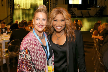 Mona Scott-Young American Express And Pharrell Williams Host The Yellow Ball At The Brooklyn Museum In Support Of Arts Education Nationwide