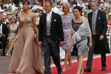 Helene Mercier Arnault Monaco Royal Wedding - The Religious Wedding Ceremony
