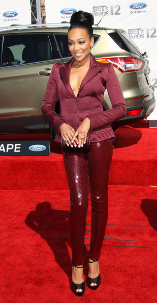 Monica - BET Awards '12 - Arrivals