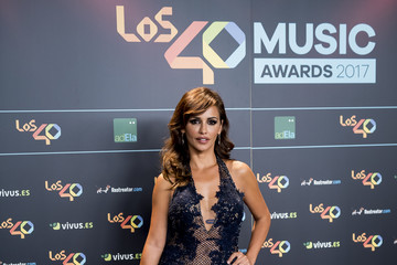 Monica Cruz '40 Principales' Awards Nominated Dinner