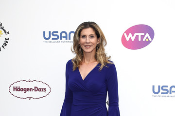 Monica Seles The WTA's 'Tennis On The Thames' Evening Reception