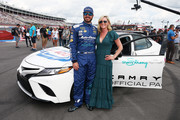 Martin Truex Jr. and Sherry Pollex Photos Photo