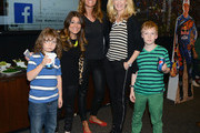 (L-R)  Ashlee White of Princesses: Long Island, Kelly Bensimon of the Real Housewives of New York and Alex McCord of Real Housewives of NYC and guests attend during Monster Energy SuperCross World Championship Race at MetLife Stadium on April 26, 2014 in East Rutherford, New Jersey.