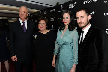 Lutz Bethge Clemens Schick Montblanc Charity Cocktail Hosted By The Weinstein Company To Benefit UNICEF