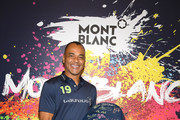 Brazilian footballer Cafu attends Montblanc X Laureus Sport For Good photocall at Hotel Hermitage during 2019 Laureus World Sports Awards, on February 18, 2019 in Monaco, Monaco.