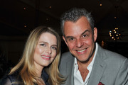 "Julia Valet and actor Danny Huston attend the Pre-Oscar charity brunch hosted by Montblanc and UNICEF to celebrate the launch of their new ""Signature For Good 2013"" Initiative with special guest Hilary Swank at Hotel Bel-Air on February 23, 2013 in Los Angeles, California."