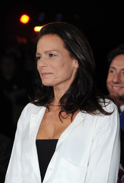 In this handout image provided by the Monaco Palace, Princess Stephanie of Monaco looks on as she attends the 36th Monte-Carlo International Circus Festival on January 20, 2012 in Monte-Carlo, Monaco.