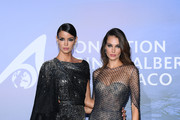 Sofia Resing and Marianne Fonseca attend the Monte-Carlo Gala For Planetary Health on September 24, 2020 in Monte-Carlo, Monaco.