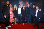 Hannes Ciatti, John McKelvey, Ana de Armas, John Hillcoat, Demian Bichir, Roger Wasserman, and guests attend CORAZON, Tribeca Film Festival Public Screening and Red Carpet Event presented by Montefiore on April 22, 2018 in New York City.