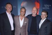 Dr. Mario Garcia, Dr. Daniel Goldstein, Director John Hillcoat, and Jeffrey Short attend CORAZON, Tribeca Film Festival public screening and red carpet event presented by Montefiore on April 22, 2018 in New York City.