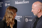 Ana de Armas and Director John Hillcoat attend CORAZON, Tribeca Film Festival public screening and red carpet event presented by Montefiore on April 22, 2018 in New York City.