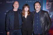 Director John Hillcoat, Actors Ana de Armas, and Demian Bichir attend CORAZON,  presented by Montefiore on April 22, 2018 in New York City.