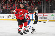 Michael Grabner #40 of the New Jersey Devils skates against the Montreal Canadiens  at the Prudential Center on March 6, 2018 in Newark, New Jersey.