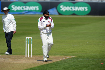 Monty Panesar Northamptonshire v Kent - Specsavers County Championship: Division Two